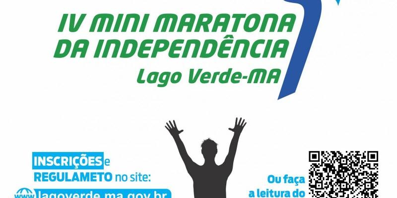 IV Mini Maratona da Independência de Lago Verde