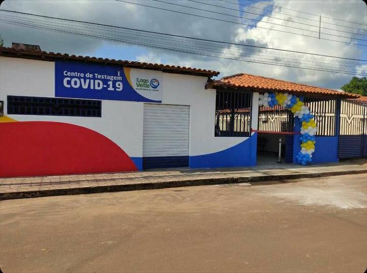 Inaugurado o Centro de Testagem contra a Covid-19, em Lago Verde.