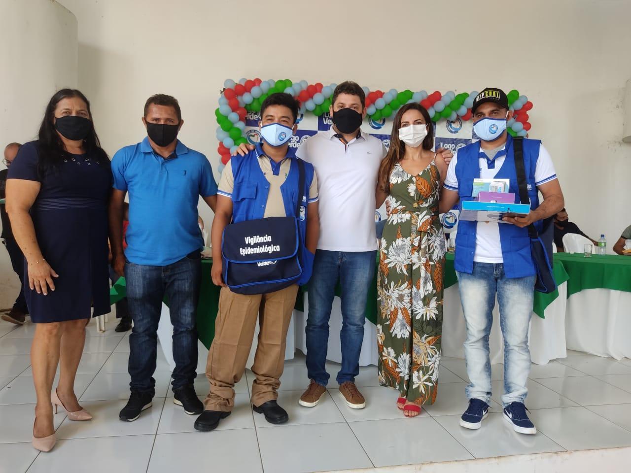 Prefeitura de Lago Verde entrega novo fardamento e tablet´s, para Agentes Comunitários de Saúde.