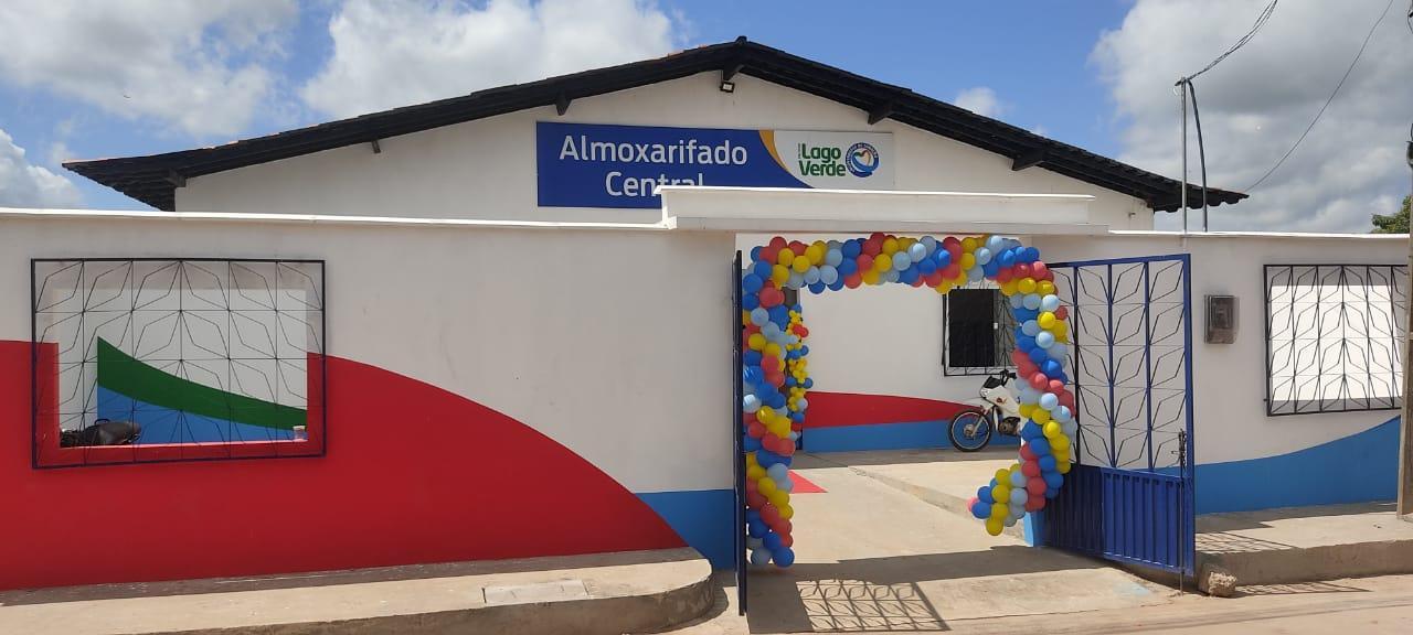 Prefeito Alex Almeida inaugura Almoxarifado Municipal.